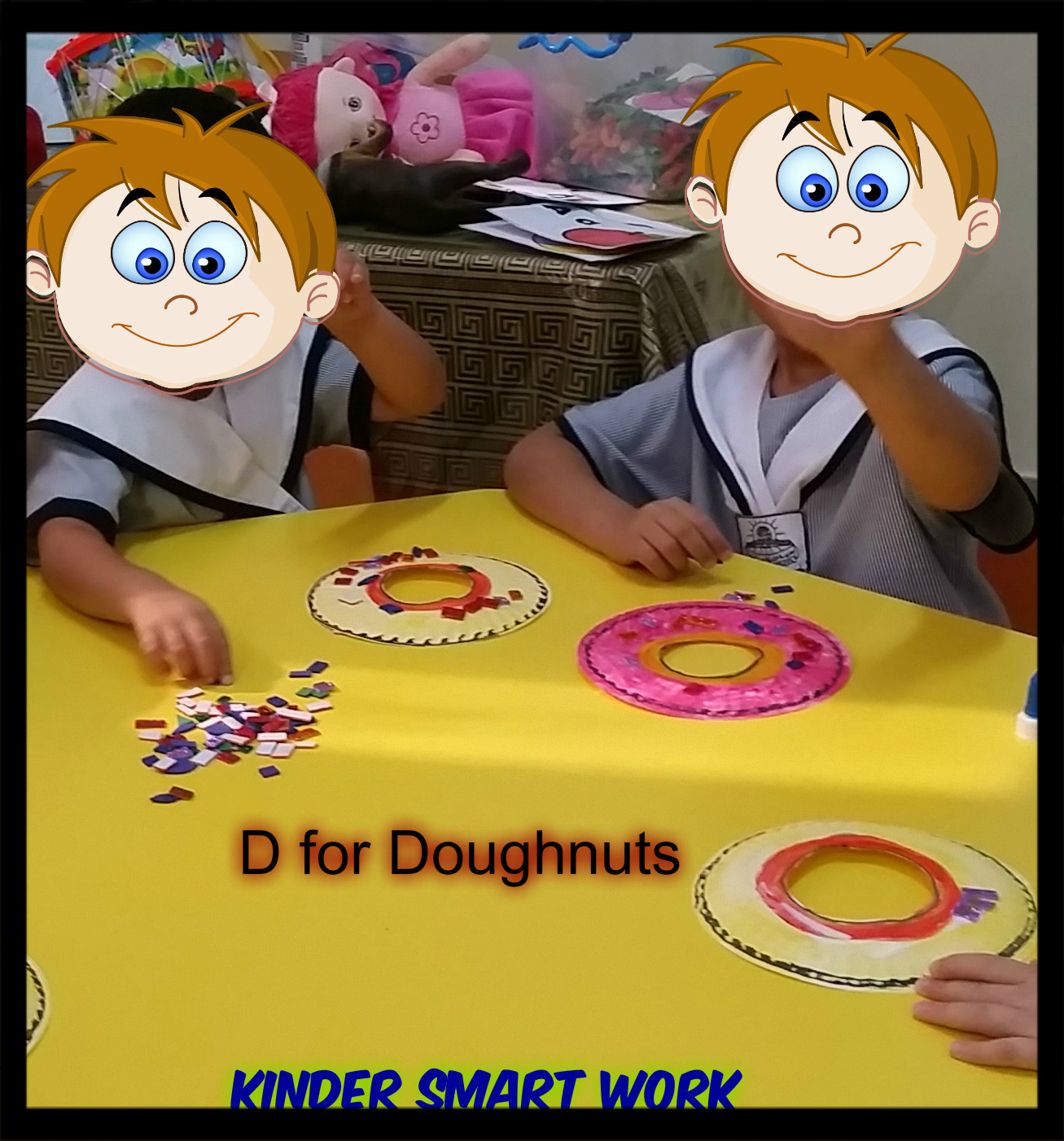 Kinder Smart Work Alphabet Activities