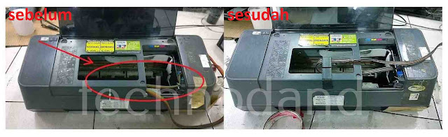Mengatasi General Error Pada Printer Epson C90 T11  Blinking