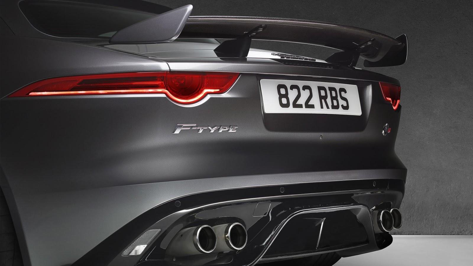 2016 Jaguar F-Type SVR