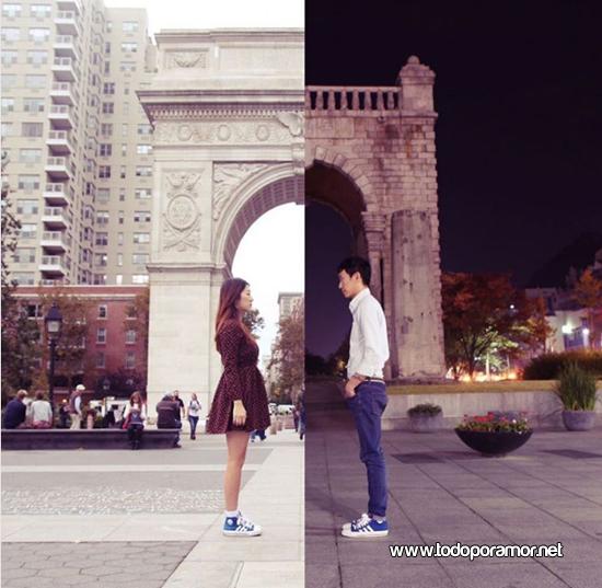 Historia de dos personas enamoradas
