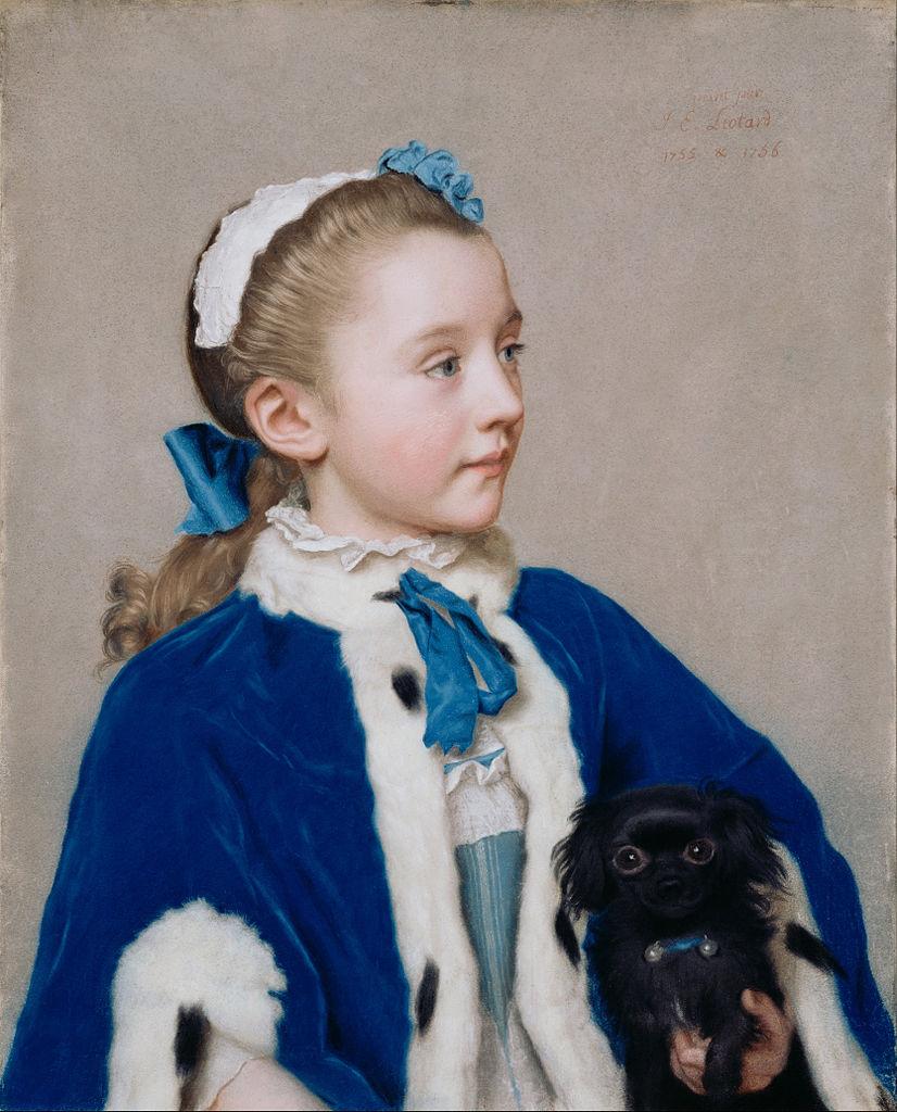 Maria Frederike van Reede-Athlone, 1755–56, pastel on vellum