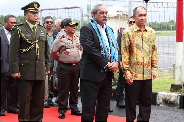 Presiden Micronesia, Peter Martin Christian Tiba di Ambon