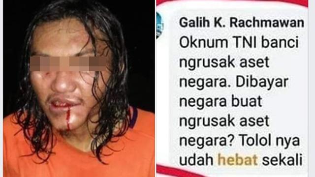Gagah di Medsos Hina TNI, Netizen: Keciduk Kaya Ayam Kehujanan