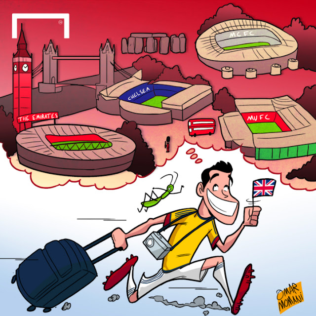 James Rodriguez cartoon
