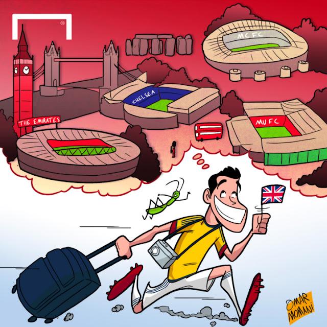 James Rodriguez cartoon