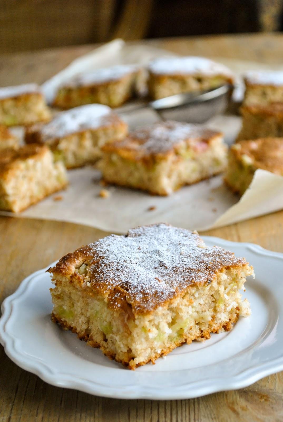 Perfect Rhubarb Cake Vegansandra