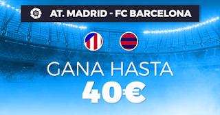 Paston promocion Atletico vs Barcelona 24 noviembre