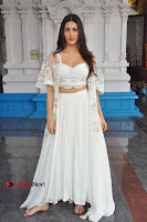 Telugu Actress Amyra Dastur Stills in White Skirt and Blouse at Anandi Indira Production LLP Production no 1 Opening  0123.JPG