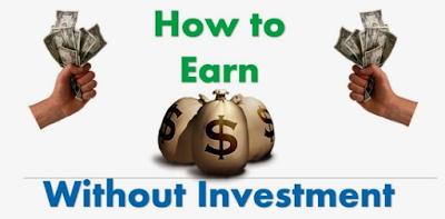 Menghasilkan Uang Dari Internet Tanpa Investasi