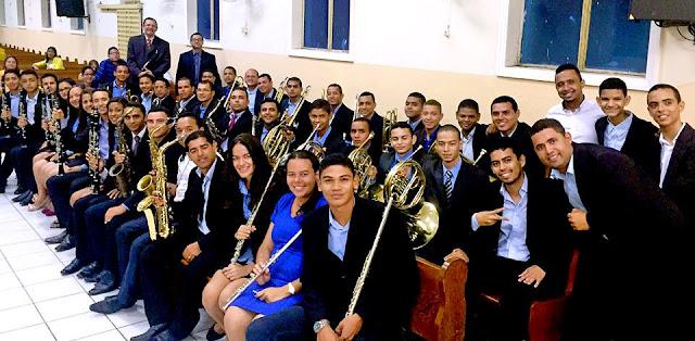 Banda de música da Assembleia de Deus de Matriz do Camaragibe