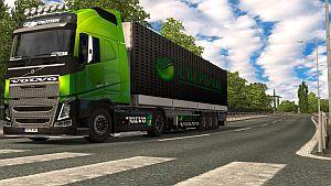 Sberbank skin & trailer for Volvo 2012
