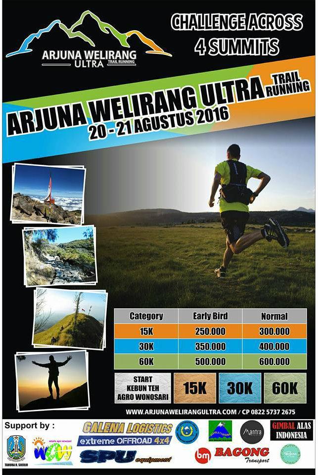 Arjuna Welirang Ultra 2016