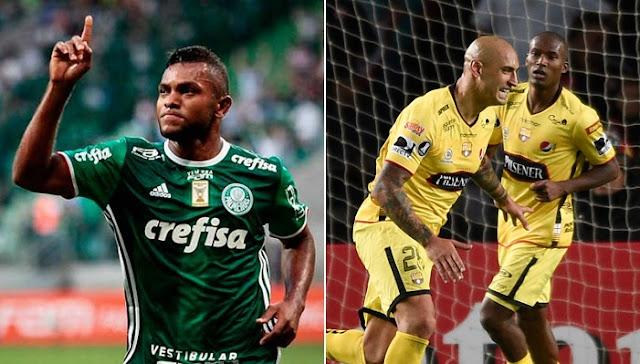 Barcelona de Ecuador vs Palmeiras en vivo