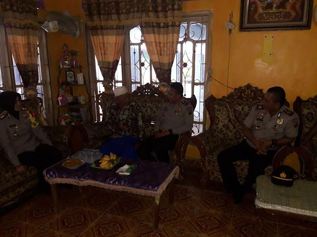 Kapolres Muba Sambangi Tokoh Agama di Kecamatan Bayung Lincir