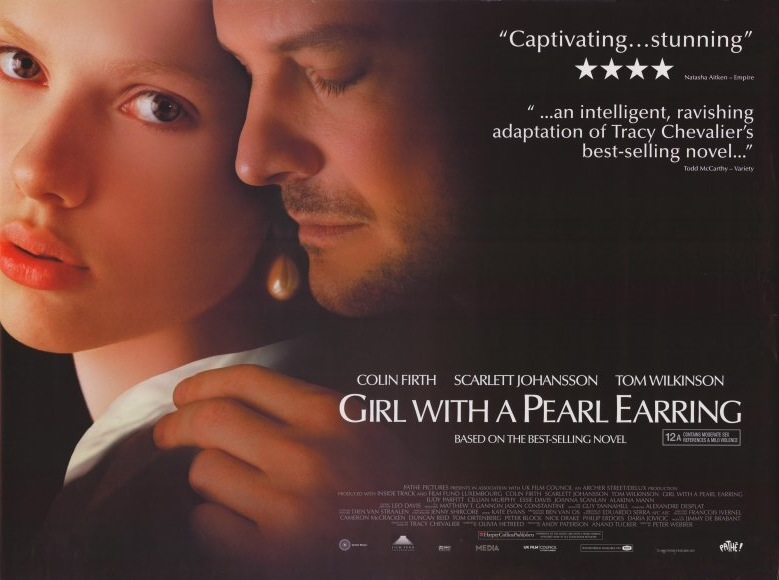 Rebecca-Books: Film Review: Girl With the Pearl Earring