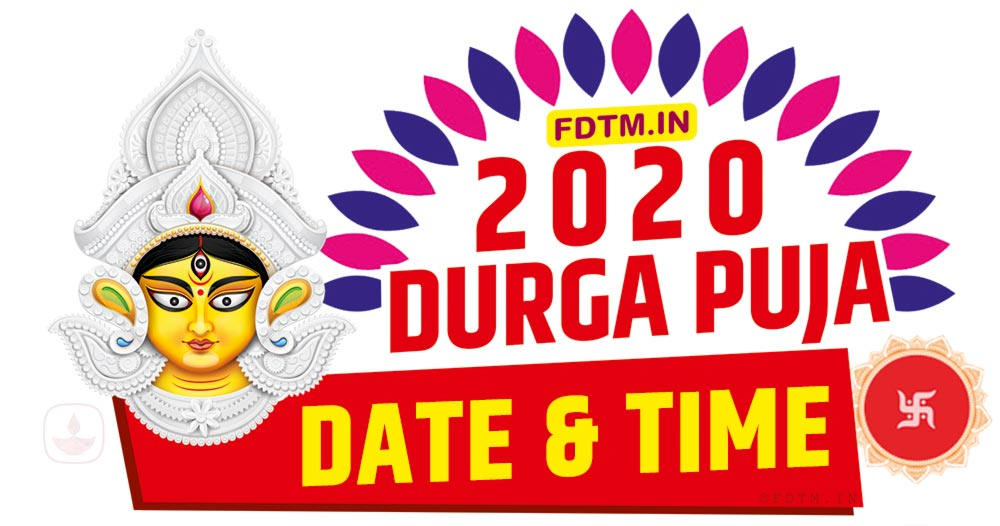 2020 Durga Puja Date and Time