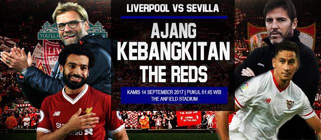 PREDIKSI Liverpool vs Sevilla: Ajang Kebangkitan The Reds