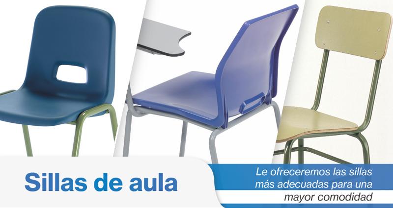 sillas de aula