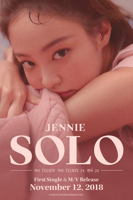 YG Ungkap Detail Tentang Solo Debut Jennie BLACKPINK