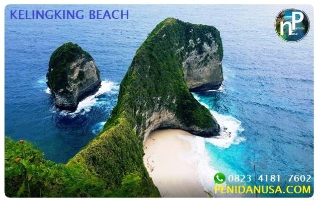 kelingking beach, pantai kelingking nusa penida bali