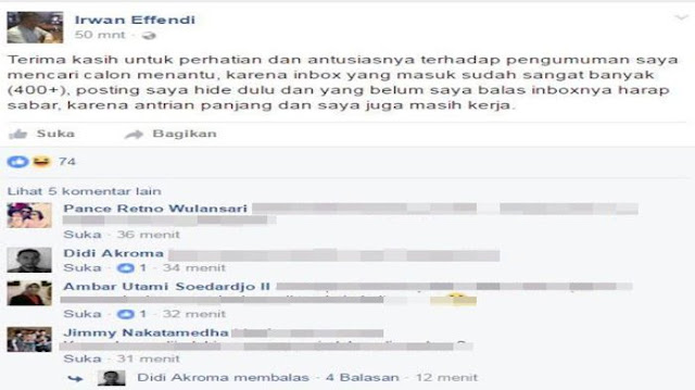 Ayah Ini Mengiklankan Anaknya di Facebook untuk Mendapatkan Suami, Tertarik? Ini Syaratnya..