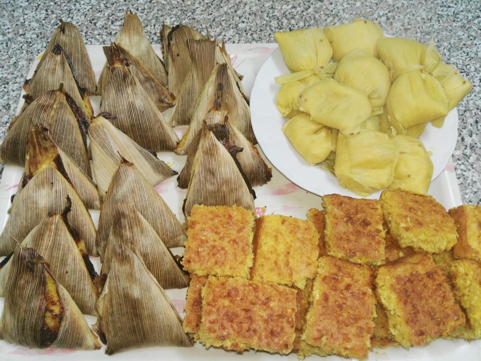 Varios tipos de huminta  foto: Delikasero