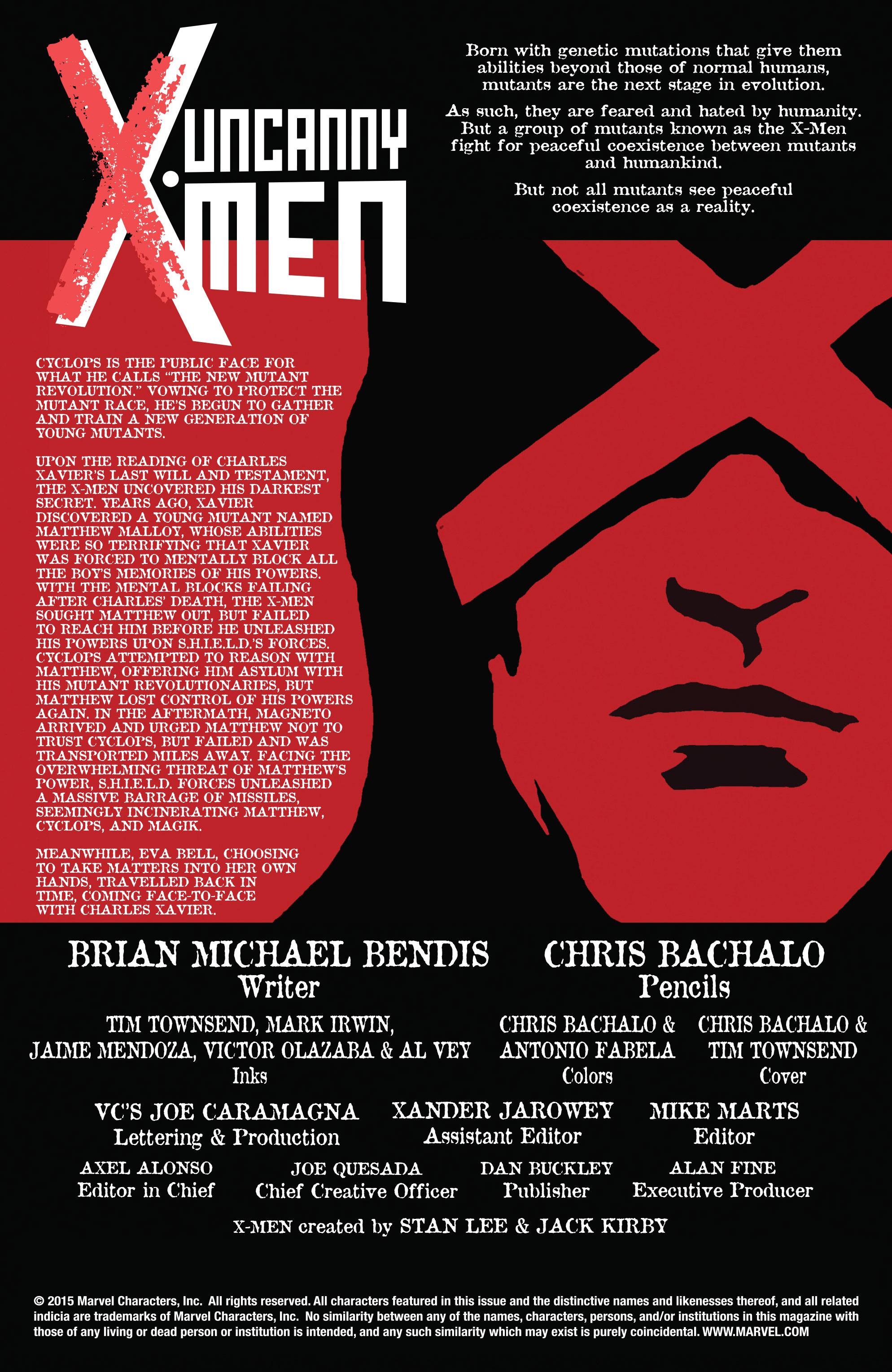 Read online Uncanny X-Men (2013) comic -  Issue #30 - 2