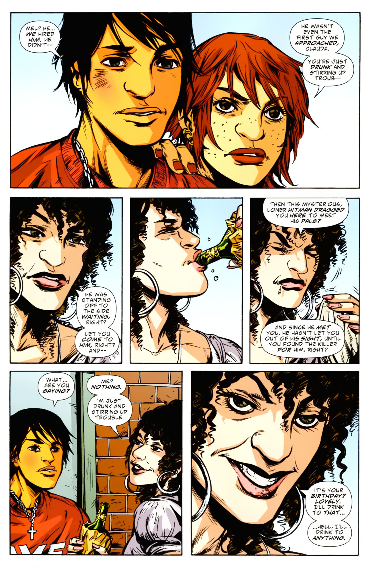 Read online American Virgin comic -  Issue #9 - 8