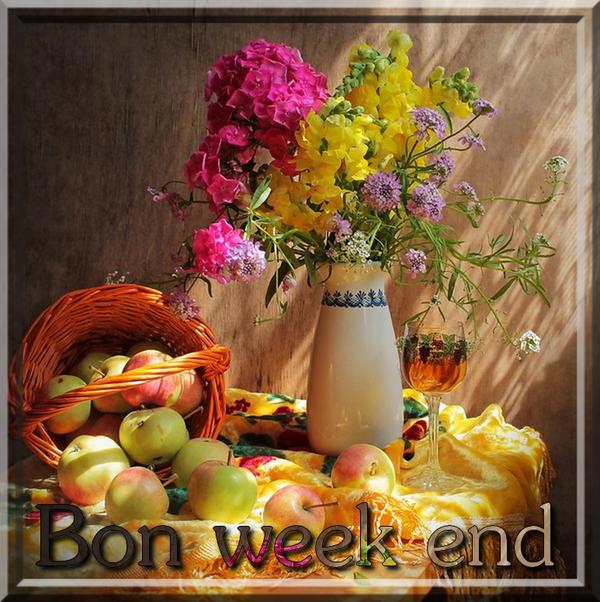 Citations option bonheur panneaux bon week end for Bouquet de fleurs zen