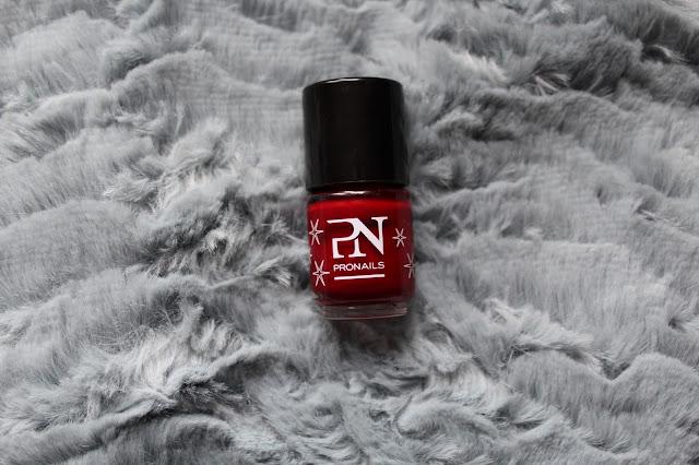 pronails nailpolish rouge amour körömlakk lak za nokte