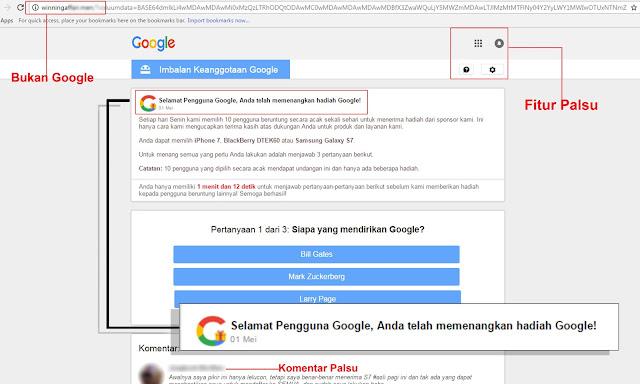 Penipuan di internet