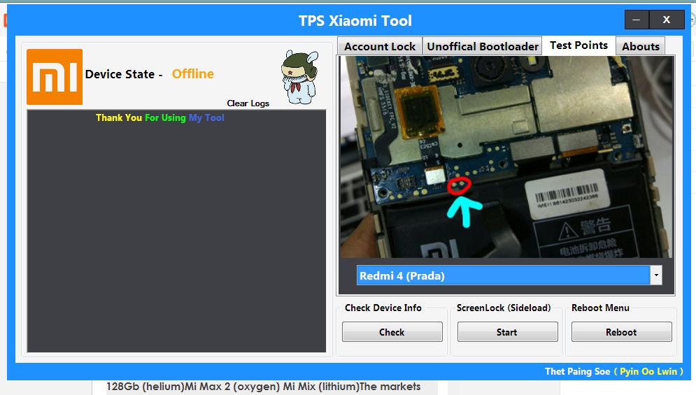 TPS Xiaomi Tool Free Download  Best Tool For Unlock