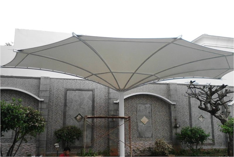 Mengenal Jenis, Model dan Desain Atap Tenda Membran