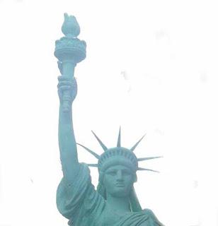 pembuatan patung liberty