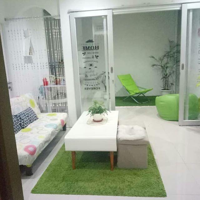 Interior Ruang Tamu Minimalis Sederhana Rumah Joglo Limasan Work