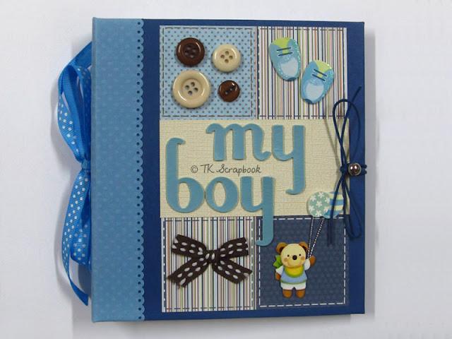álbum de fotos bebe menino
