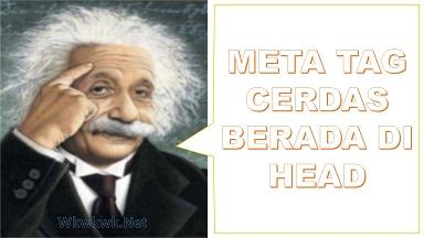 Memasang meta tag cerdas Meta Keyword Otomatis dari Meta Description