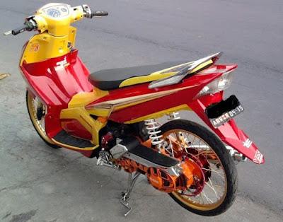 Variasi Motor Nouvo Z top