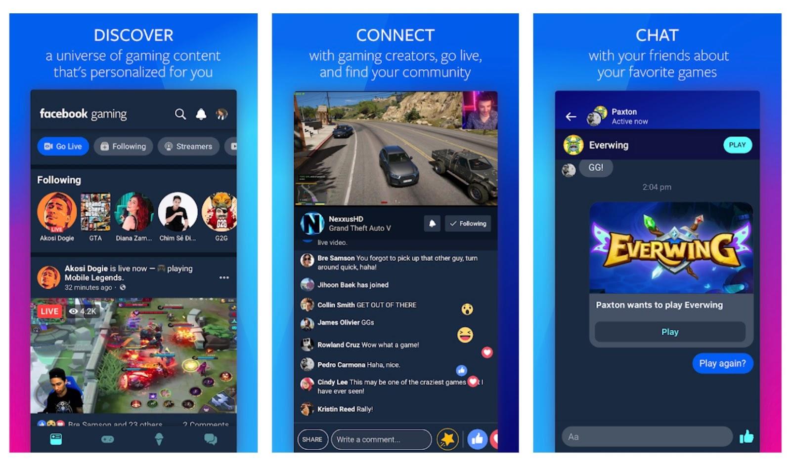 Facebook game App