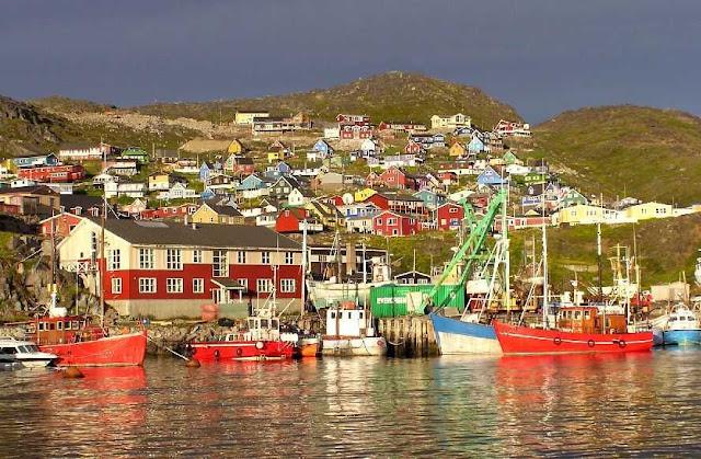 Qaqortoq, na Groenlândia