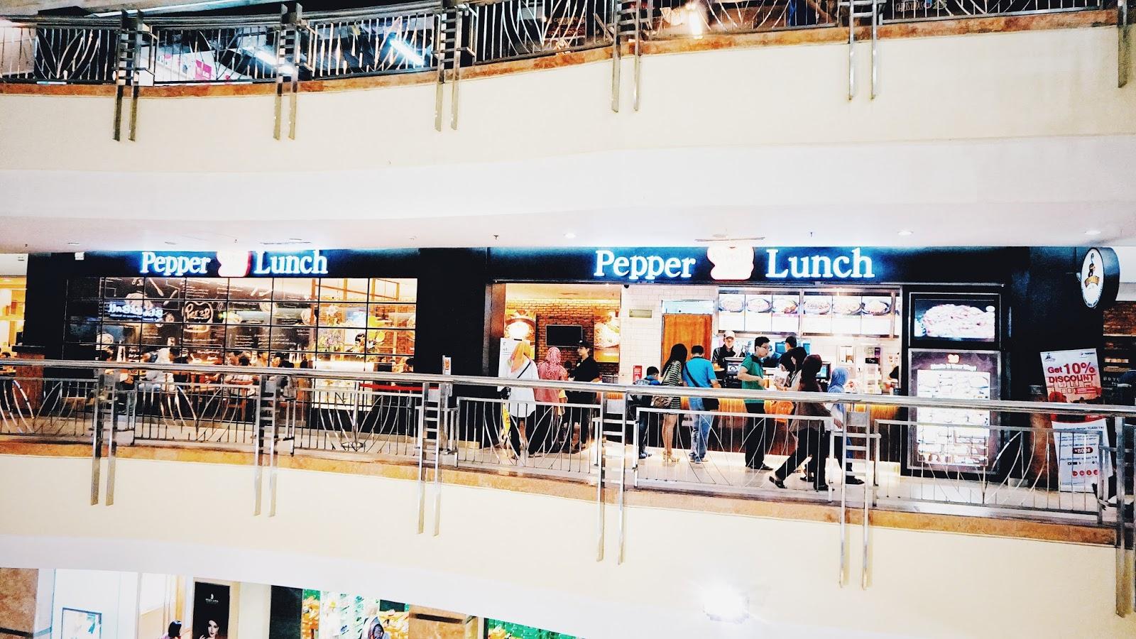 Asiknya Berbagi Pku Tempatmakanpekanbaru Pepper Lunch Mal Ska