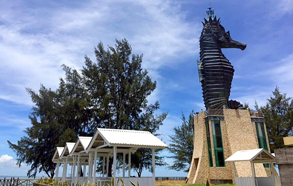 Seahorse Lighthouse in Miri