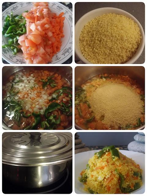 como hacer cuscus CON verdura