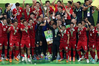 Daftar Juara Piala AFF dari Tahun ke Tahun