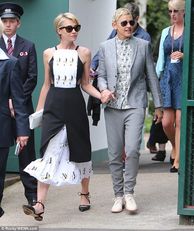 Portia De Rossi Wedding Gown: Ellen DeGeneres Debunks Divorce Rumour, Steps Out With