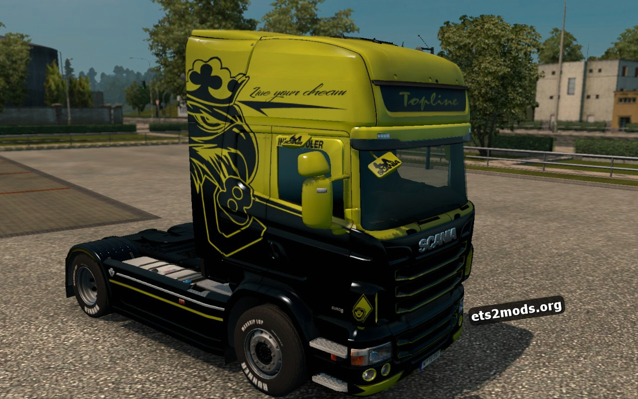 New Generation Skin for Scania RJL