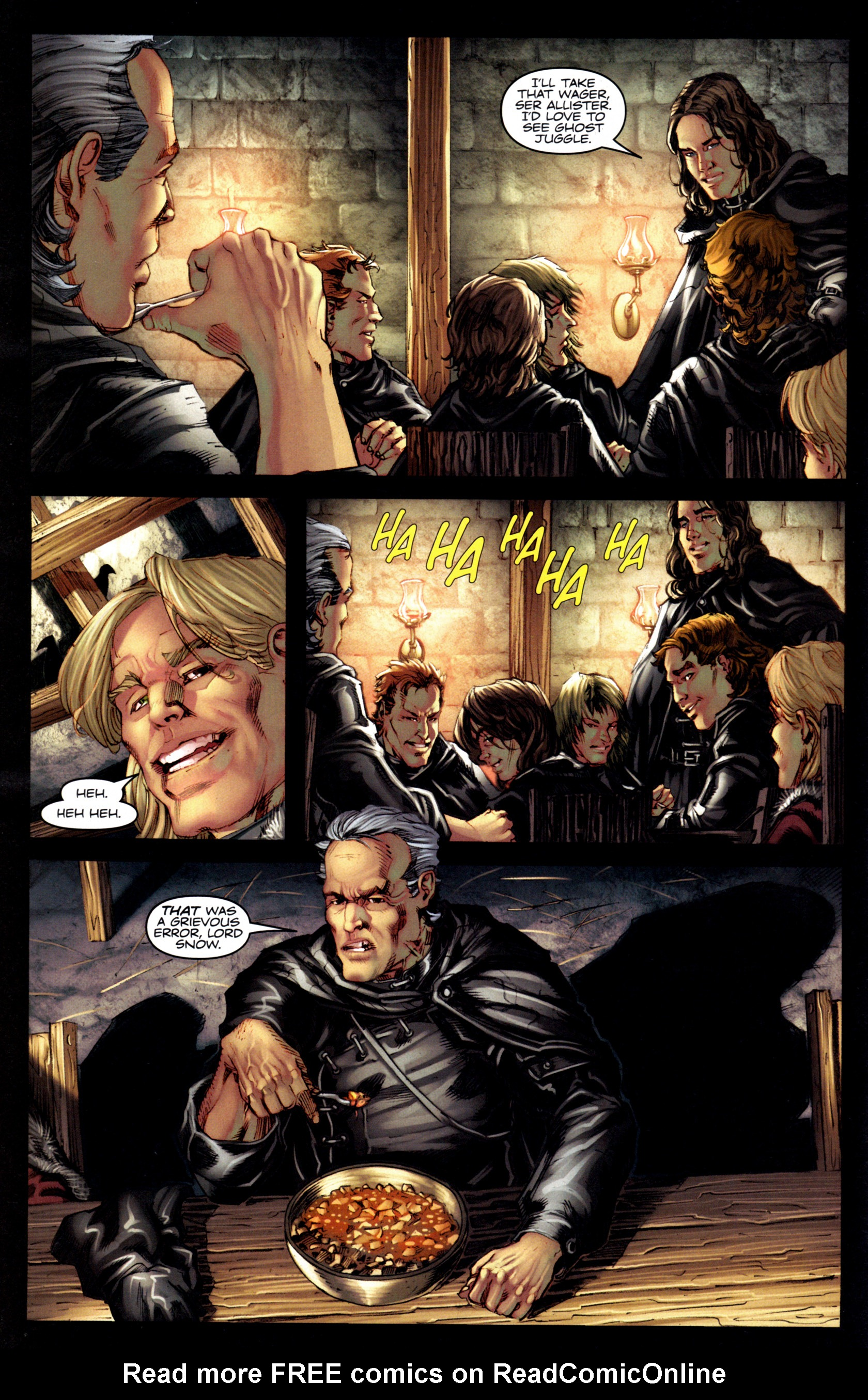 Read online A Game Of Thrones comic -  Issue #6 - 12