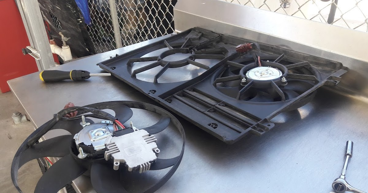 Volksmasters Cooling Fan Replacement
