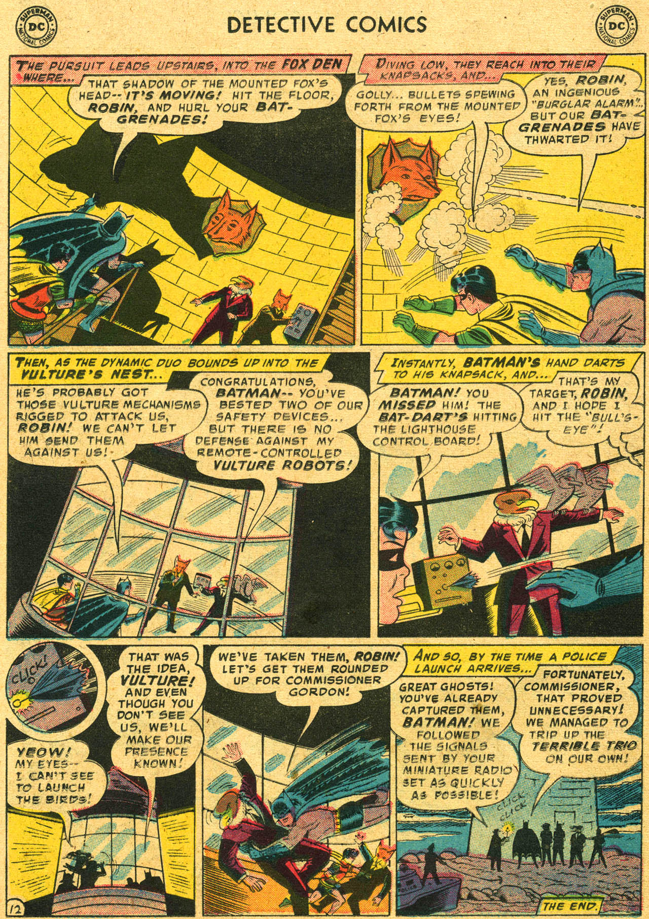 Read online Detective Comics (1937) comic -  Issue #253 - 14