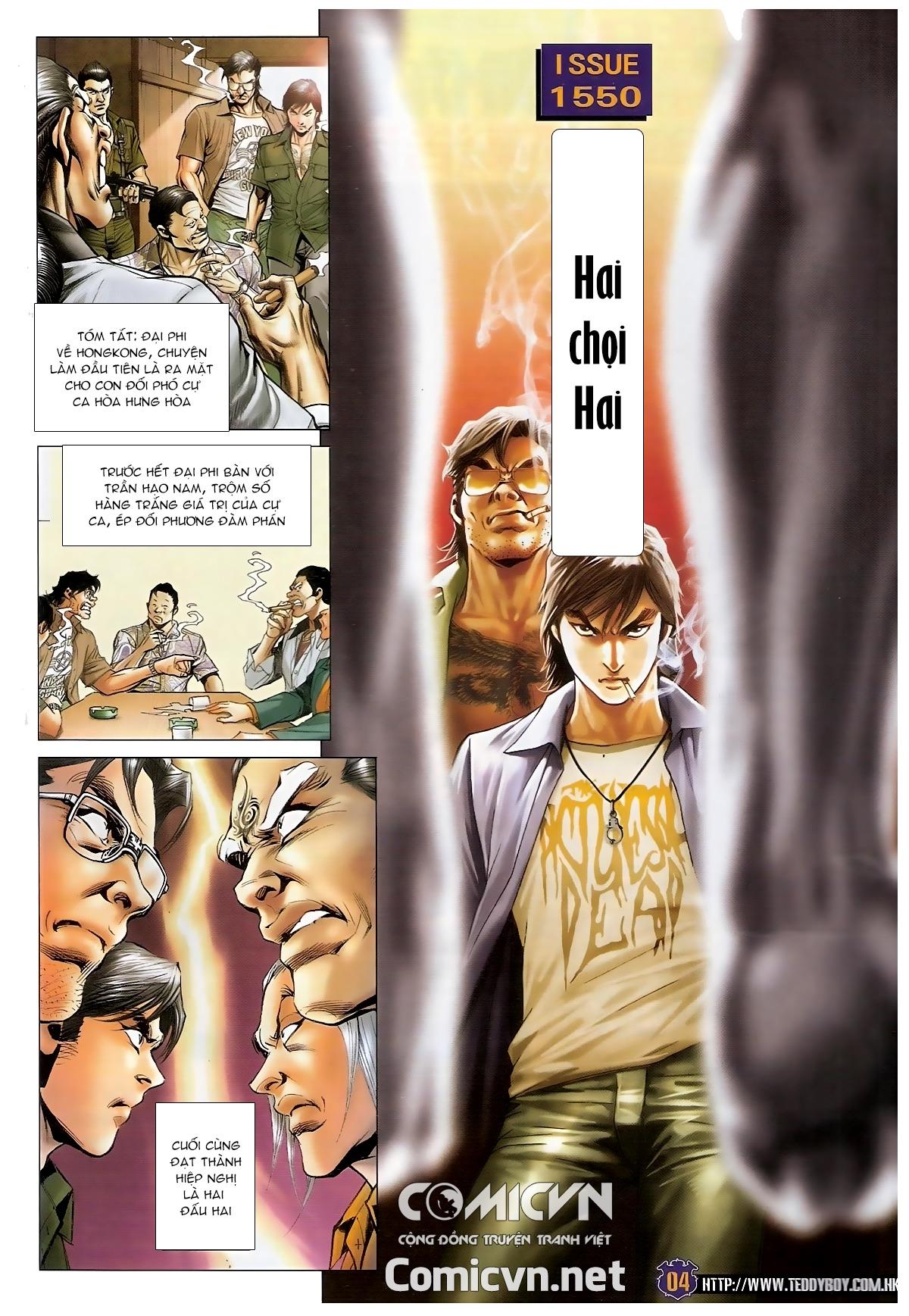 Người Trong Giang Hồ - Chapter 1550: Hai chọi Hai - Pic 2